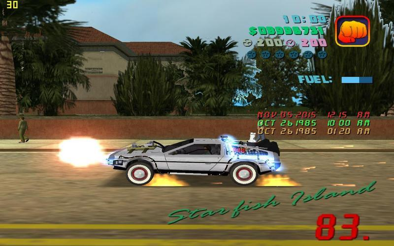 Back to the Future Mod for GTA: Vice City | Futurepedia