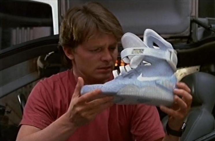 reputable site bb65d 4cf34 Back To The Future Nike Shoes