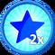 2x XP