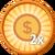 2x Coins