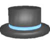 Blue Top Hat