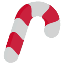 Candy Cane Icon-0