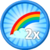 2x Rainbows