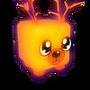Orange Deer 0