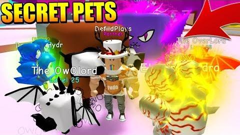 ALL SECRET PETS! OWOLORD, DOGCAT, LEVIATHAN AND OVERLORD IN BUBBLE GUM SIMULATOR! Roblox