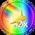 2x Stars