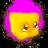 Shiny Magenta Cube