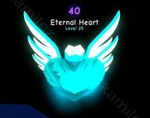 Bubble-Gum-Simulator-1x-Eternal-Heart-SECRET-Limited