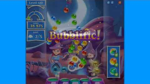 Bubble Witch 2 Saga Level 510