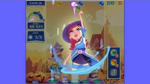 Bubble Witch Saga 2 level 16