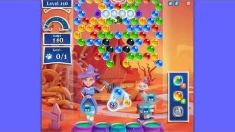 Bubble Witch Saga 2 level 110