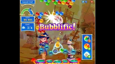 Bubble Witch Saga 2 level 747 NO BOOSTERS