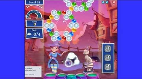 Bubble Witch 2 Saga level 55 - defeat Morgana - NEW