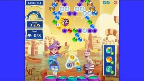 Bubble Witch 2 Saga level 144 NEW