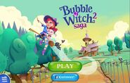 Bubble witch-saga 2 mobile main screen