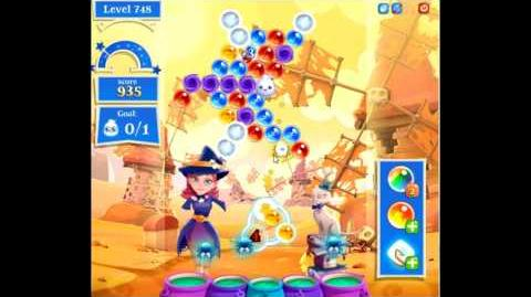 Bubble Witch Saga 2 level 748 NO BOOSTERS