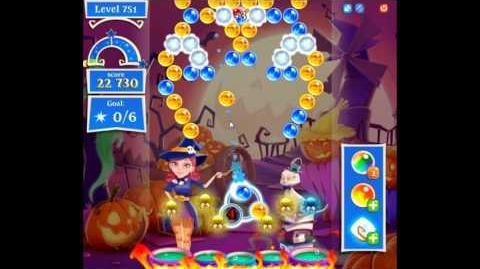 Bubble Witch Saga 2 level 751