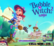 Bubble Witch 2 Saga Loading Background