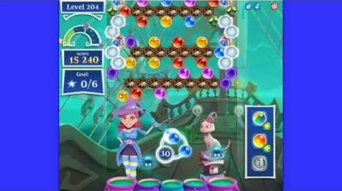 Bubble Witch 2 Saga - Level 204