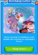 Birthday Gifts in Jackalope Tower event