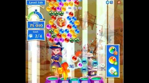 Bubble Witch Saga 2 level 749 NO BOOSTERS