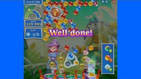Bubble Witch 2 Saga - Level 588