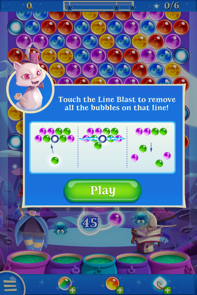 bubble witch saga special bubbles