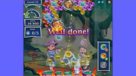 Bubble Witch 2 Saga - Level 73