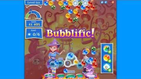 Bubble Witch 2 Saga Level 511