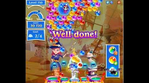Bubble Witch Saga 2 level 750 NO BOOSTERS