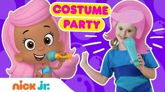 Bubble Guppies Costume Party! Ep. 4 🤩 w Gil, Molly, Zooli & Nonny! Nick Jr.