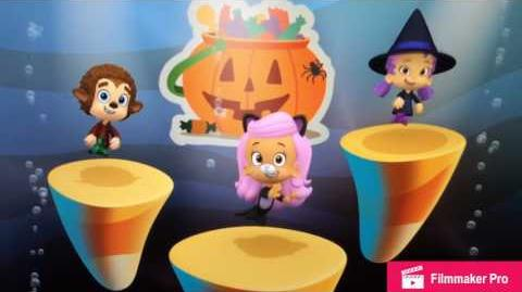 Bubble guppies Trick Or Treat Dance!