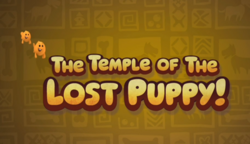 Title Card Temple of The Lost Puppy