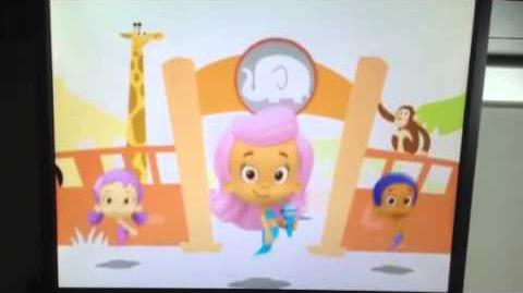 Bubble guppies tunes 45 the zoo song(Hebrew)