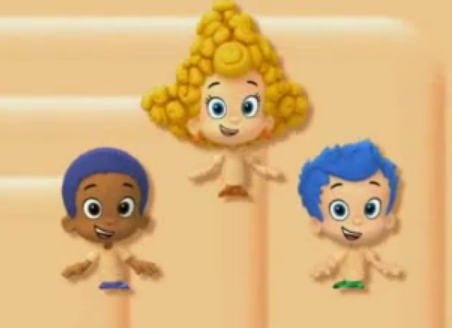Image - Pweach deema goby and gil.png | Bubble Guppies Wiki | FANDOM ...