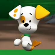 Bubble Puppy Happy