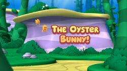 The oyster bunny
