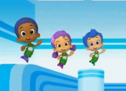 Oona and goby and gil. awww
