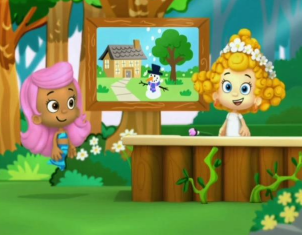 Molly's Gallery - The Spring Chicken is Coming! | Bubble Guppies