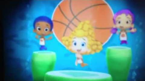 Bubble guppies tunes 21 basketball dance(Hebrew)