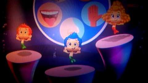 Bubble guppies senses dance italiano