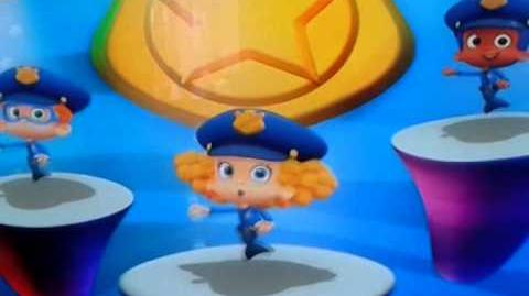 Bubble Guppies UK Steer your Police Car