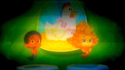 Bubble Guppies polli ballo