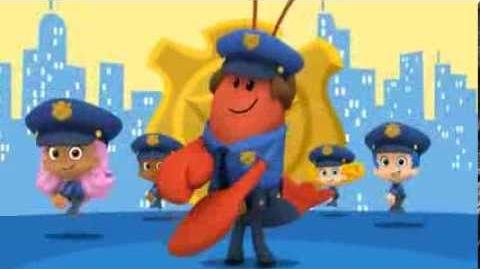 Bubulle Guppies - La police
