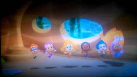 Bubble guppies in fila bambini