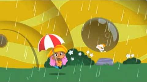 Bubulle Guppies La pluie NICKELODEON JUNIOR