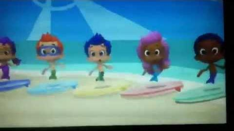 "Bubble Guppies ""At The Beach"""