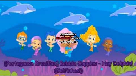 Portuguese Brazilian Bubble Guppies - Hey Dolphin! (Golfinhos!)-0