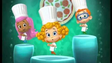 Bubulle Guppies - Faisons une pizza