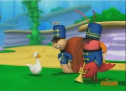 Naughty ducky